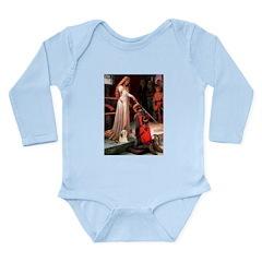 Accolade / Lhasa Apso #4 Long Sleeve Infant Bodysu