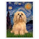 Starry / Lhasa Apso #9 Small Poster