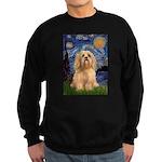 Starry / Lhasa Apso #9 Sweatshirt (dark)