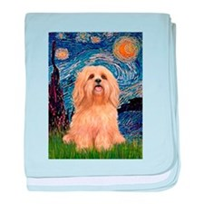 Starry / Lhasa Apso #9 baby blanket