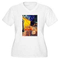 Cafe / Lhasa Apso #9 T-Shirt