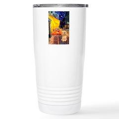 Cafe / Lhasa Apso #9 Travel Mug