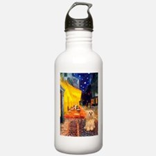 Cafe / Lhasa Apso #9 Water Bottle