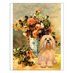 Vase / Lhasa Apso #9 Posters