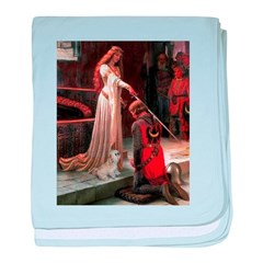 The Accolade & Lhasa Apso baby blanket