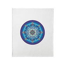 Divive Harmony Mandala Throw Blanket