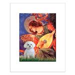 Mandolin Angel & Maltese Small Poster