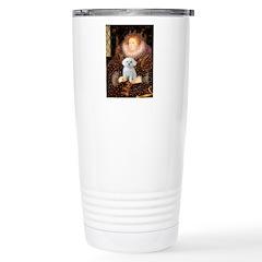 The Queen's Maltese Travel Mug