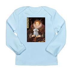 The Queen's Maltese Long Sleeve Infant T-Shirt
