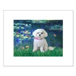 Lilies / Maltese Small Poster