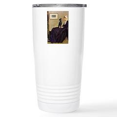 Whistler's / Min Pin Travel Mug