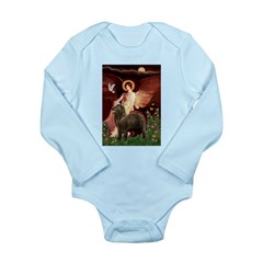 Angel & Newfoundland (B2S) Long Sleeve Infant Body