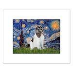 Starry Night / Landseer Small Poster