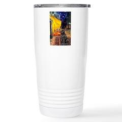 Cafe & Newfoundland Travel Mug
