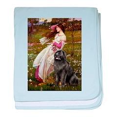 Windflowers / Newfoundland baby blanket