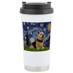 Starry /Norwich Terrier Stainless Steel Travel Mug