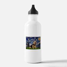 Starry /Norwich Terrier Water Bottle