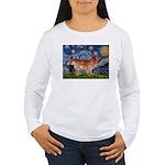 Starry / Nova Scotia Women's Long Sleeve T-Shirt