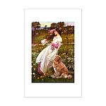Wind Flowers & Nova Scotia Mini Poster Print