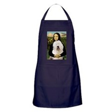 Mona's Old English Sheepdog Apron (dark)