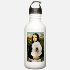 Mona's Old English Sheepdog Water Bottle