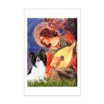 Mandolin Angel & Papillon Mini Poster Print
