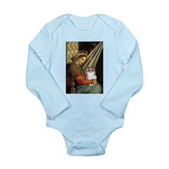 Madonna / Papillon(f) Long Sleeve Infant Bodysuit