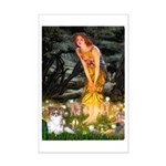 Fairies / Papillon (f) Mini Poster Print
