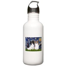 Starry / 2 Papillons Water Bottle