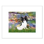 Lilies (2) & Papillon Small Poster