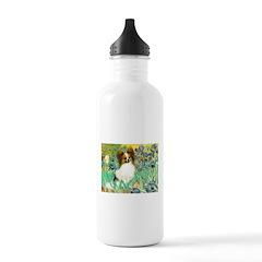 Irises / Papillon Water Bottle