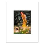 Fairies / Pekingese(r&w) Small Poster