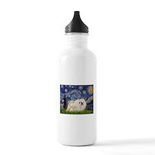 Starry / Pekingese(w) Water Bottle