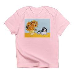 Sunflowers/PBGV Infant T-Shirt