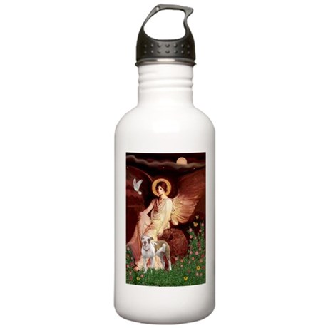 Seated Angel / Pitbull Stainless Water Bottle 1.0L