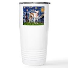 Starry Night Pitbull Thermos Mug