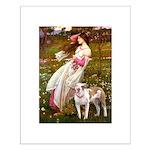 Windflowers / Pitbull Small Poster