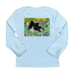 Irises / Pomeranian(bb) Long Sleeve Infant T-Shirt