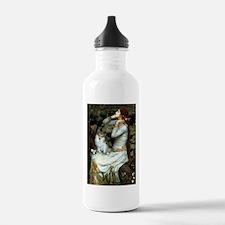 Ophelia / Pomeranian (p) Water Bottle