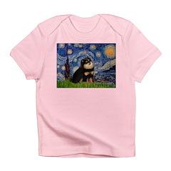 Starry Night / Pomeranian(b&t) Infant T-Shirt