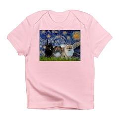 Starry/3 Pomeranians Infant T-Shirt
