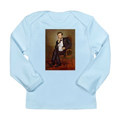 Lincoln/Poodle (W-Min) Long Sleeve Infant T-Shirt