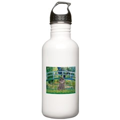 Bridge / Poodle (Silver) Water Bottle