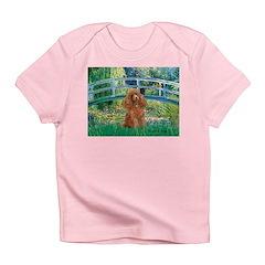 Lily Pond Bridge/Poodle (apri Infant T-Shirt