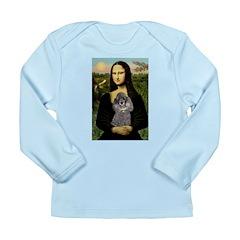 Mona / Poodle (s) Long Sleeve Infant T-Shirt