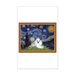 Starry Night / Poodle(w) Posters