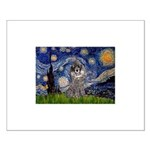 Starry Night / Poodle (s) Small Poster