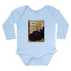 Whistler's / Poodle(s) Long Sleeve Infant Bodysuit