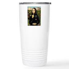 Mona / Std Poodle (bl) Travel Mug