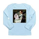 Ophelia / Poodle pair Long Sleeve Infant T-Shirt